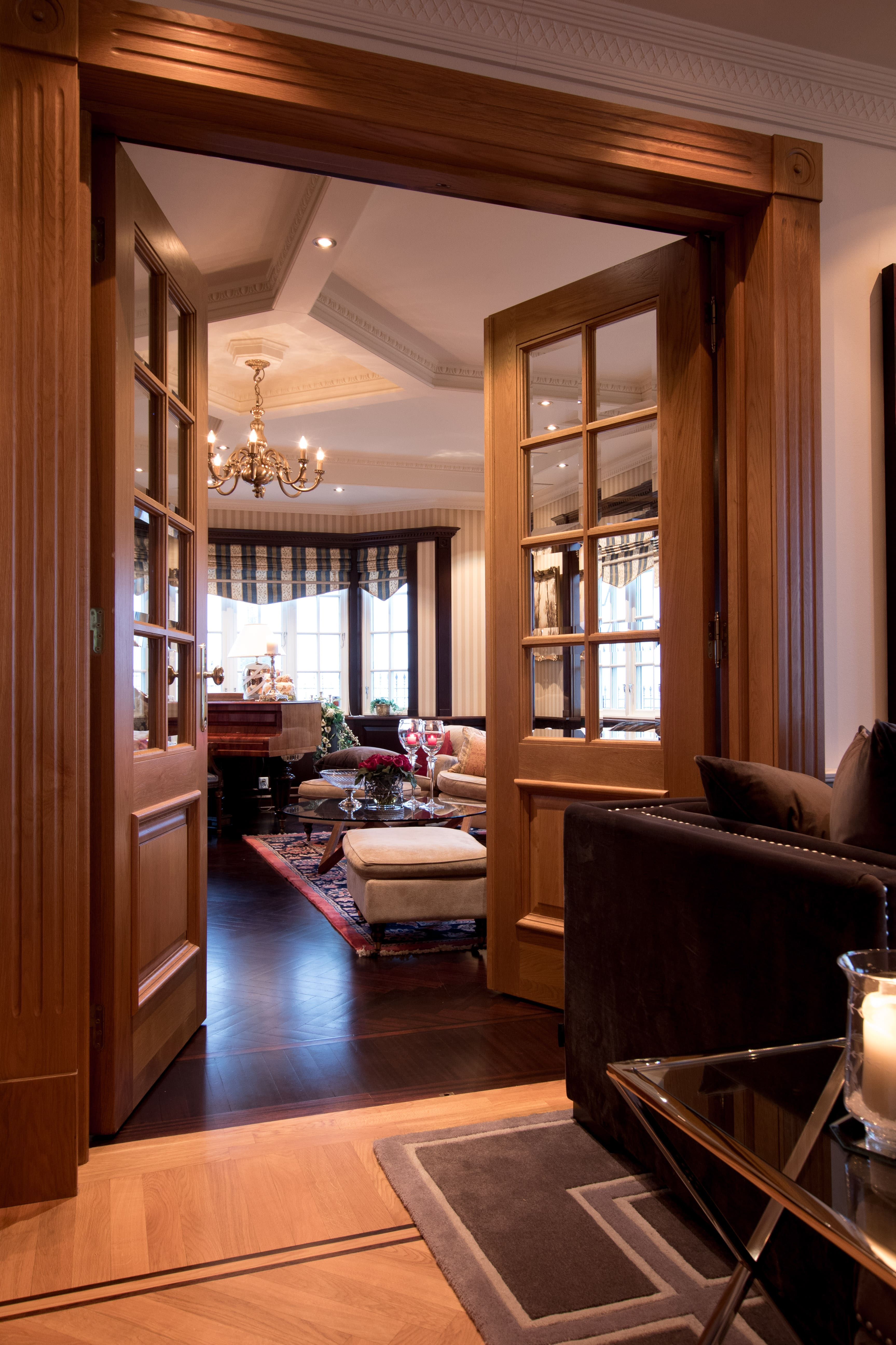 The entire house oozes of style and luxury.