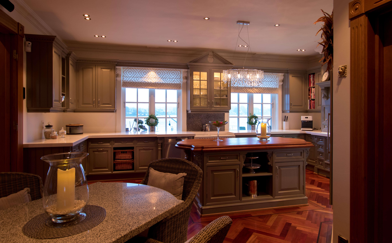 Handmade kitchen from Norwegian craftsmen.