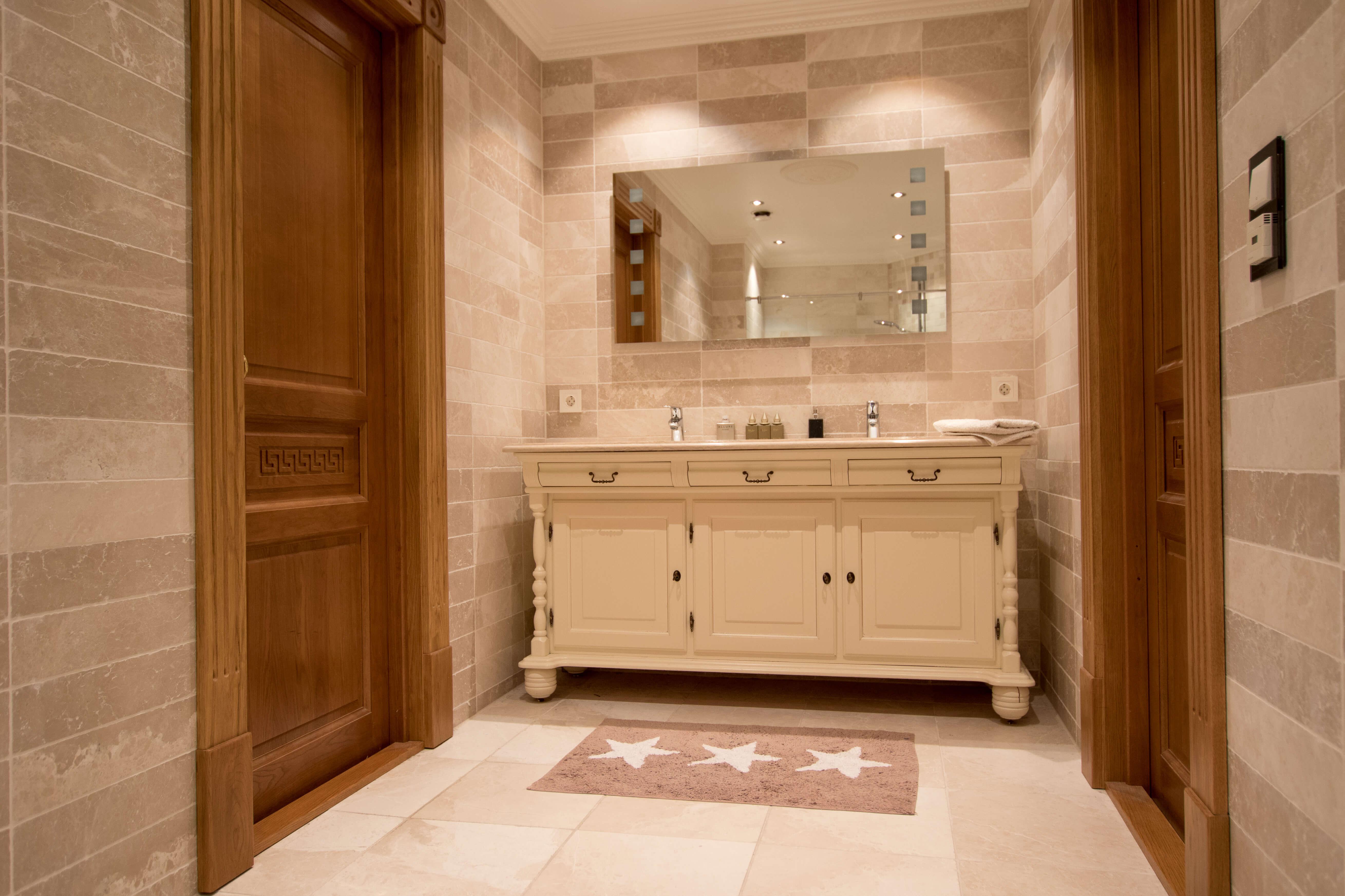 High quality bathroom for high quality living.
