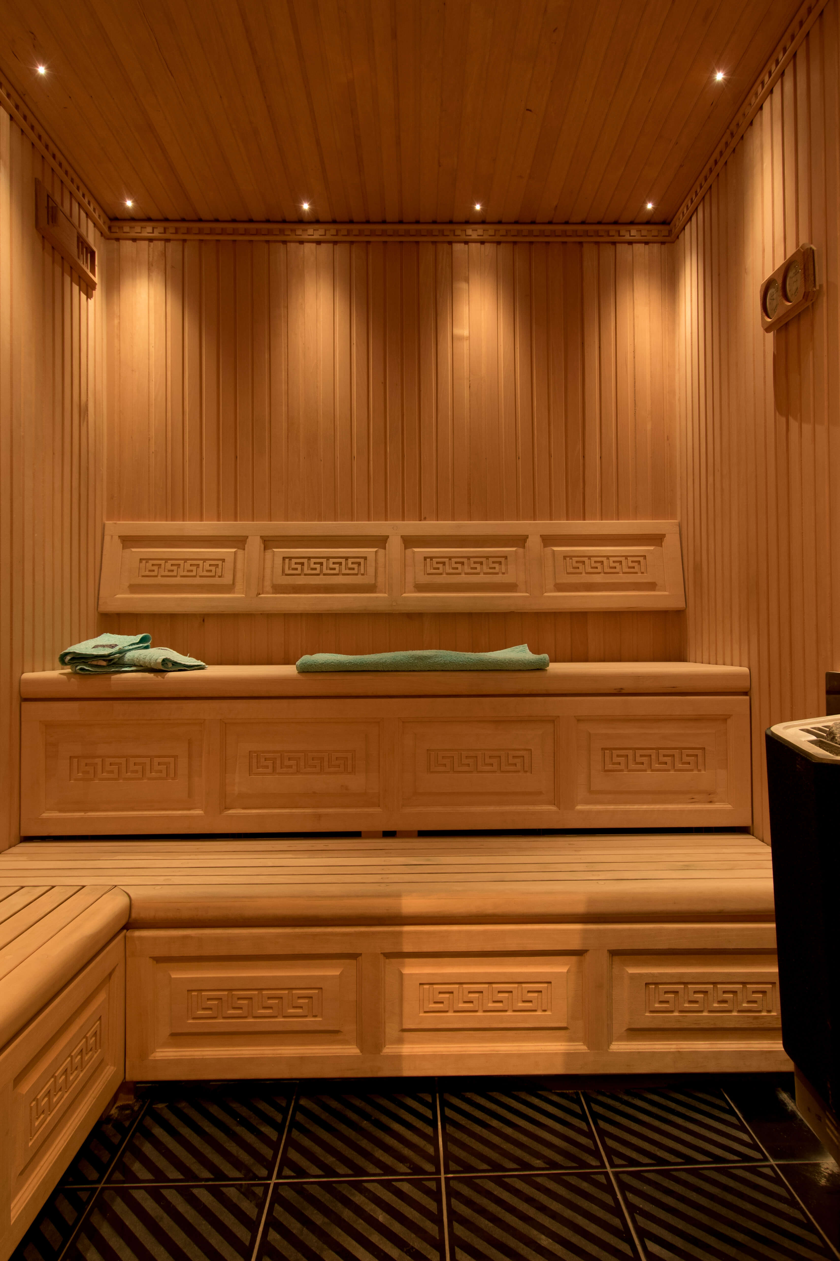 A one of a kind sauna.