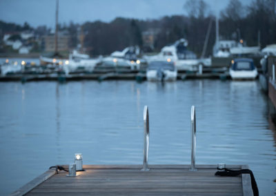Private dock with exclusivities